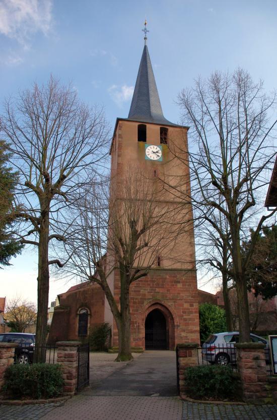 L'église protestante de Dorlisheim